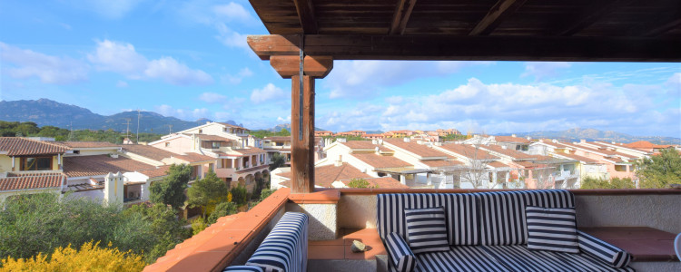 Two bedrooms flat with terrace, Porto Rotondo