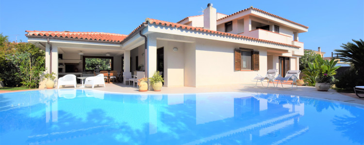 Villa with swimming pool in Porto San Paolo